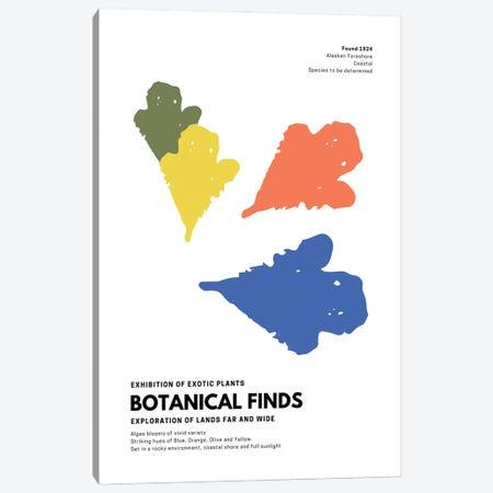 Botanical Finds Gallery Poster Alaska Canvas Print #DHV1} by Design Harvest Canvas Art Print