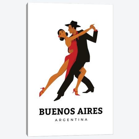 Art Deco Tango Dances Of Buenos Aires Argentina Canvas Print #DHV38} by Design Harvest Art Print