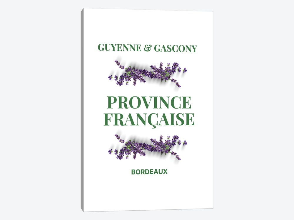 French Provincial Guyenne And Gascony With Lavender by Design Harvest 1-piece Canvas Art Print