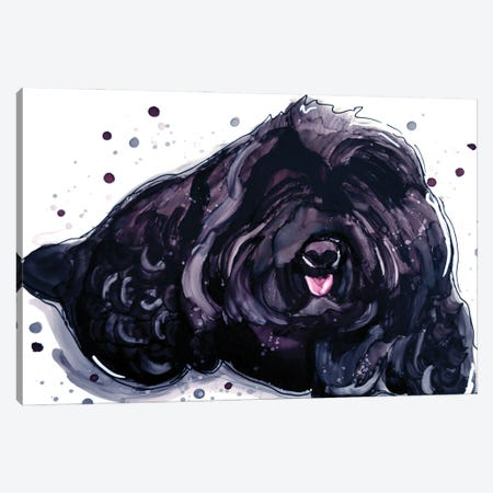 Fluffy Temptation Canvas Print #DID1} by didArt Studio Art Print