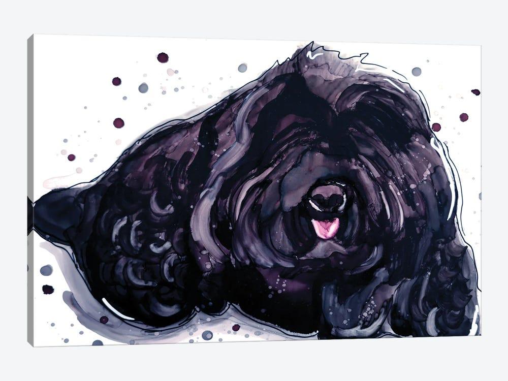 Fluffy Temptation by didArt Studio 1-piece Canvas Artwork