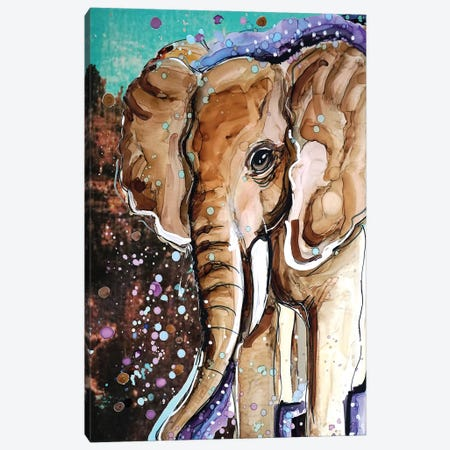 The Future Is Bright Canvas Print #DID30} by didArt Studio Canvas Artwork
