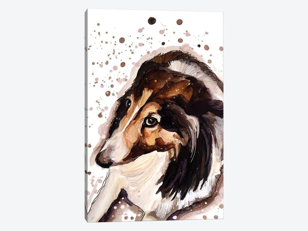 Dog Or Hedgehog? by didArt Studio 1-piece Canvas Art