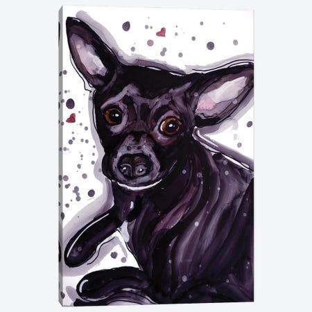 Hug Me Canvas Print #DID36} by didArt Studio Canvas Print