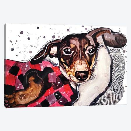 Good Night Moonpie Canvas Print #DID49} by didArt Studio Canvas Art Print