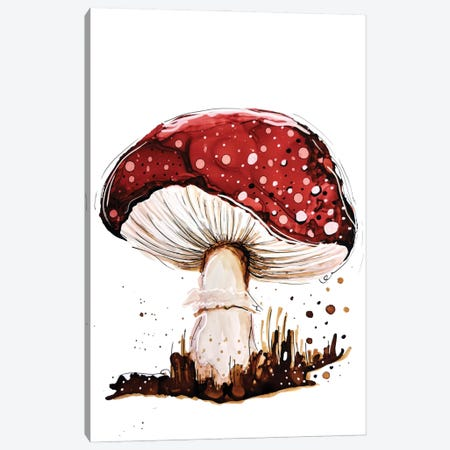 Mysterious Toadstool Canvas Print #DID59} by didArt Studio Canvas Wall Art