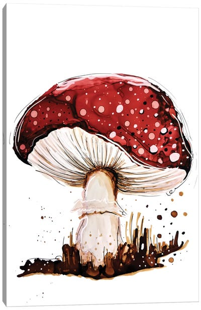 Mysterious Toadstool Canvas Art Print