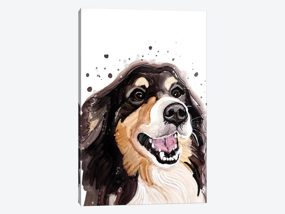 Smiles Are Always In Fashion by didArt Studio 1-piece Canvas Print