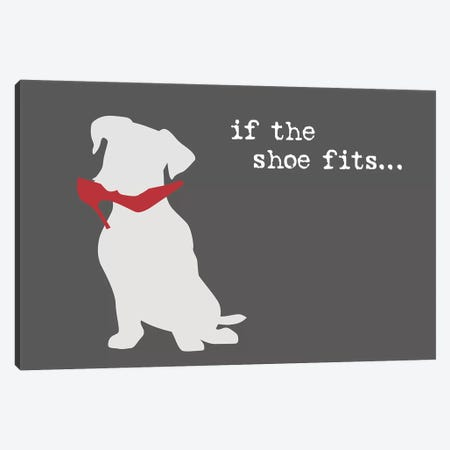 Shoe Fits II Canvas Print #DIG101} by Dog is Good and Cat is Good Canvas Artwork