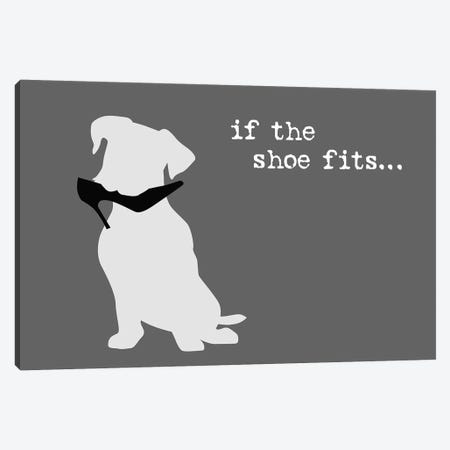 Shoe Fits III Canvas Print #DIG102} by Dog is Good and Cat is Good Canvas Artwork