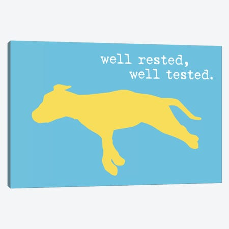 Well Rested II Canvas Print #DIG104} by Dog is Good and Cat is Good Canvas Art Print