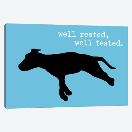 Well Rested III Canvas Print #DIG105} by Dog is Good and Cat is Good Canvas Print