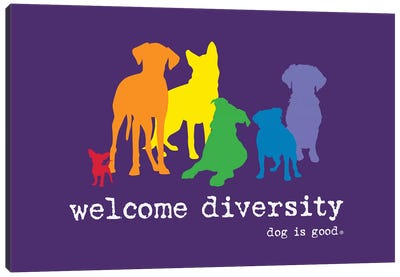 Diversity Pride Canvas Art Print