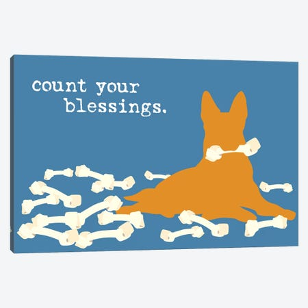 Blessings Canvas Print #DIG11} by Dog is Good and Cat is Good Canvas Art Print