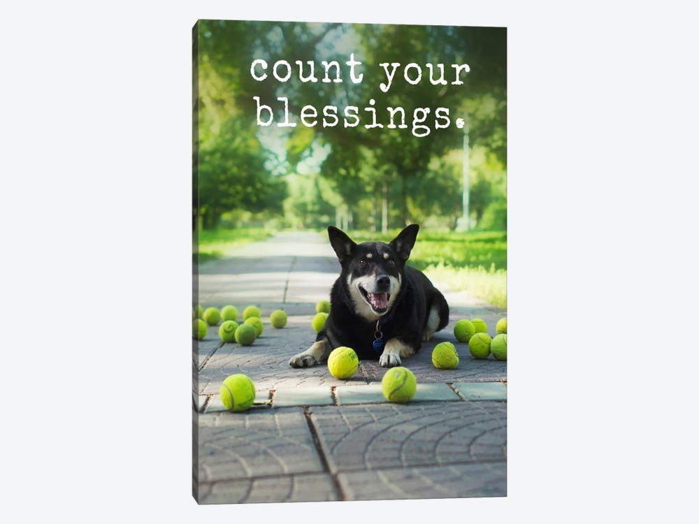 Blessings - Realistic by Dog is Good and Cat is Good 1-piece Canvas Art