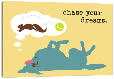 Chase Dreams Canvas Art Print