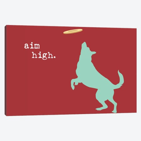 Aim High Canvas Print #DIG1} by Dog is Good and Cat is Good Canvas Artwork