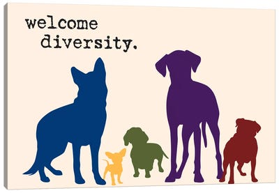 Diversity Canvas Art Print
