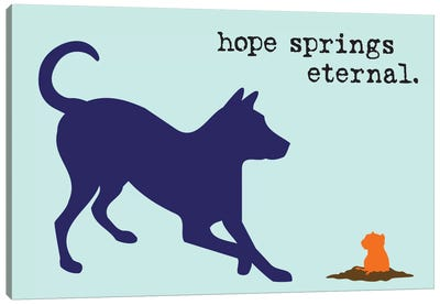Hope Springs Canvas Art Print