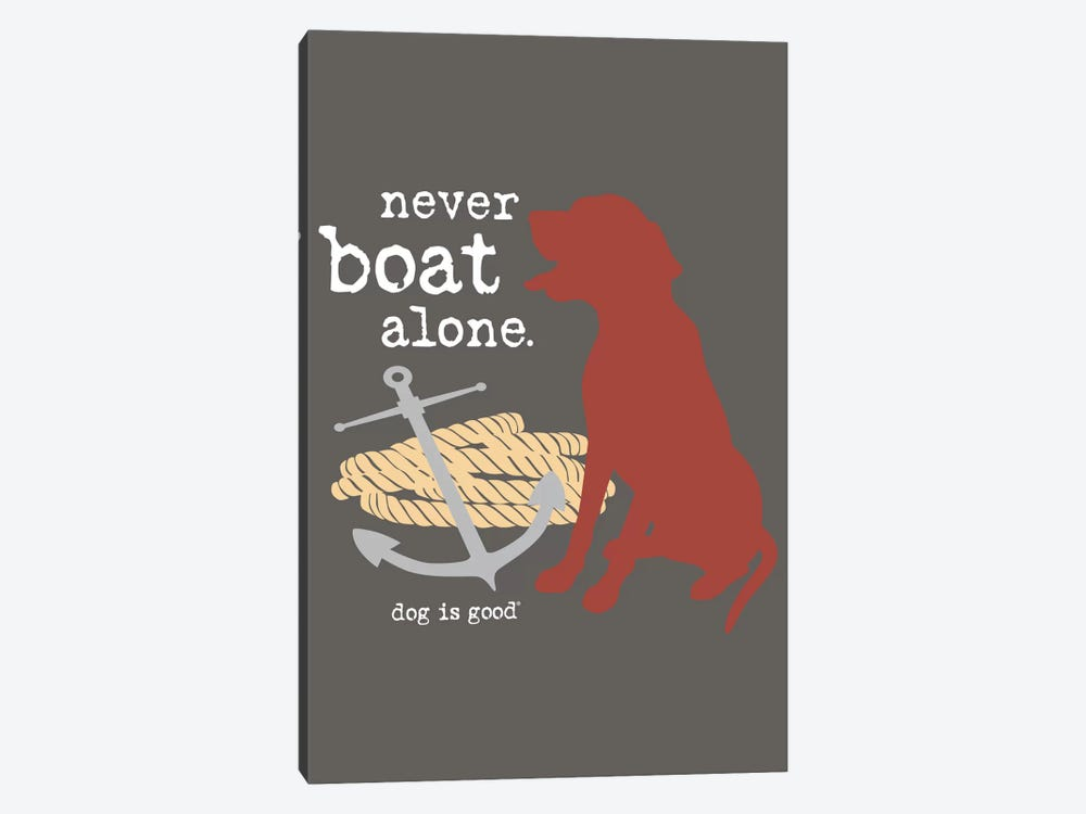 Never Boat Alone I 1-piece Art Print