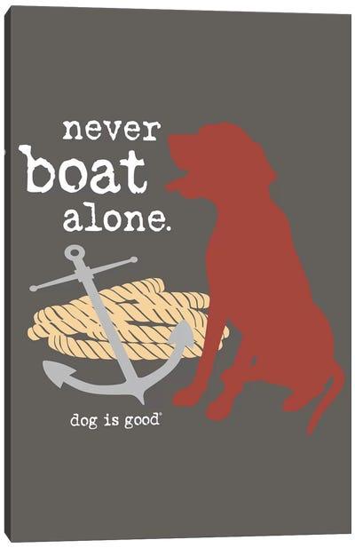 Never Boat Alone I Canvas Art Print