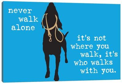Never Walk Alone I Canvas Art Print