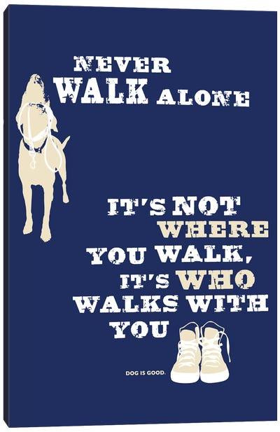 Never Walk Alone II Canvas Art Print