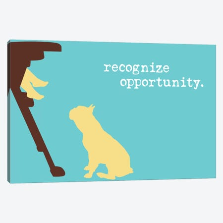 Opportunity I Canvas Print #DIG73} by Dog is Good and Cat is Good Art Print