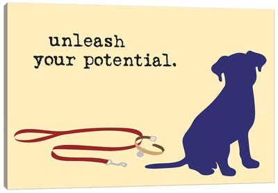 Unleash Your Potential Canvas Art Print