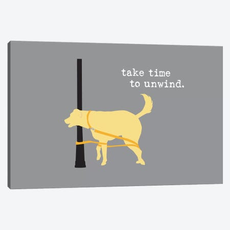 Unwind Canvas Print #DIG88} by Dog is Good and Cat is Good Canvas Wall Art
