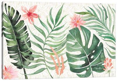 Paradise Petals I Canvas Art Print