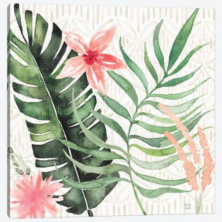 Paradise Petals II Canvas Print #DIJ11} by Dina June Canvas Wall Art