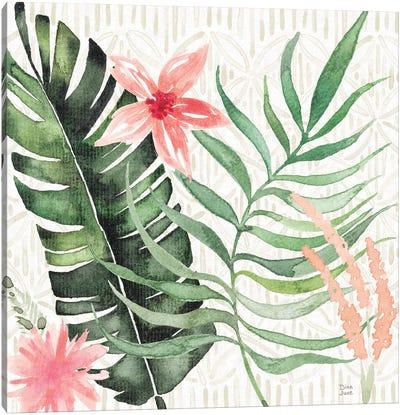 Paradise Petals II Canvas Art Print