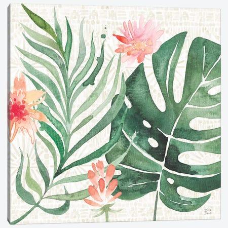 Paradise Petals III Canvas Print #DIJ12} by Dina June Canvas Art