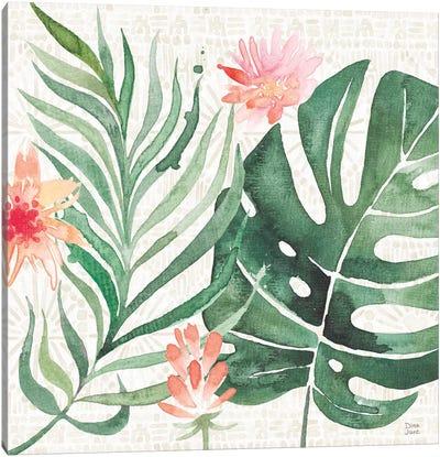Paradise Petals III Canvas Art Print