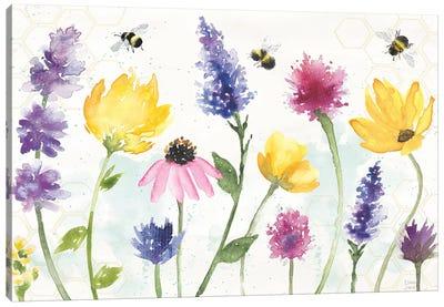 Bee Harmony I Canvas Art Print