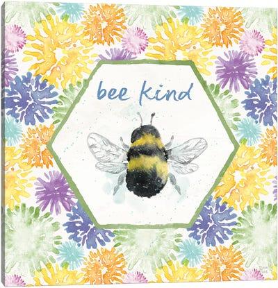 Bee Harmony VII Canvas Art Print
