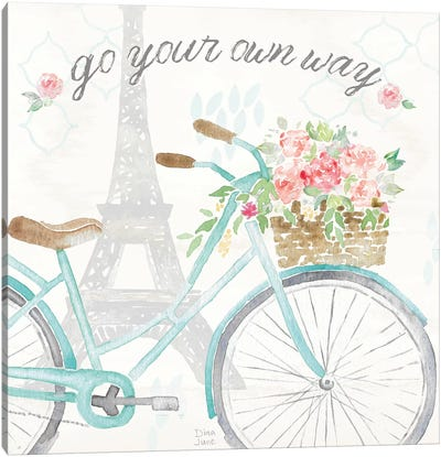 Boho Ride II Canvas Art Print