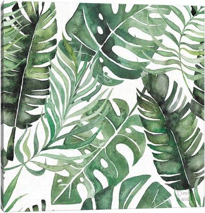Paradise Petals Pattern IB Canvas Art Print