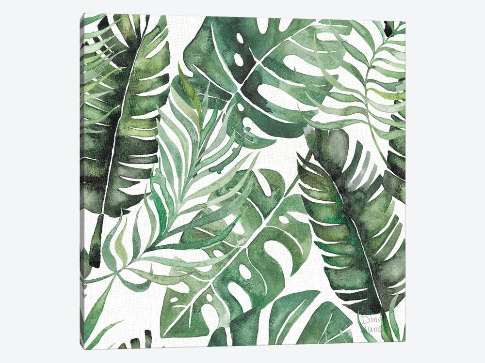 Paradise Petals Pattern IB by Dina June 1-piece Art Print