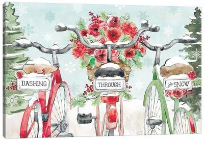 Holiday Ride IV Canvas Art Print