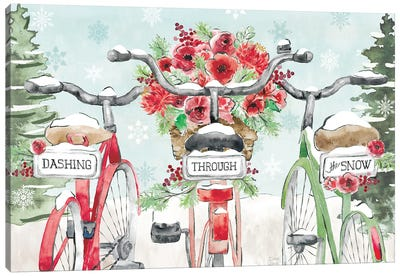 Holiday Ride IV Canvas Art Print