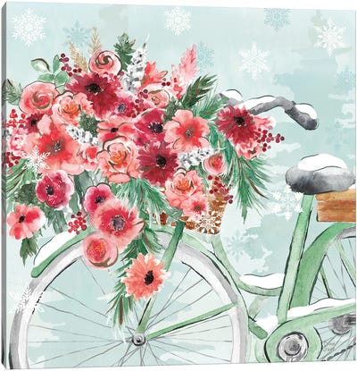 Holiday Ride VI Canvas Art Print
