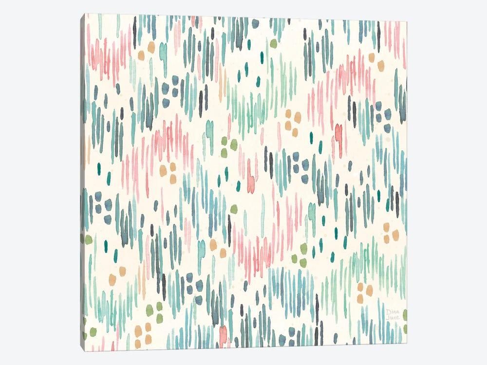 Surfs Up Pattern VIA by Dina June 1-piece Canvas Art