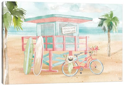 Surfs Up VII Canvas Art Print