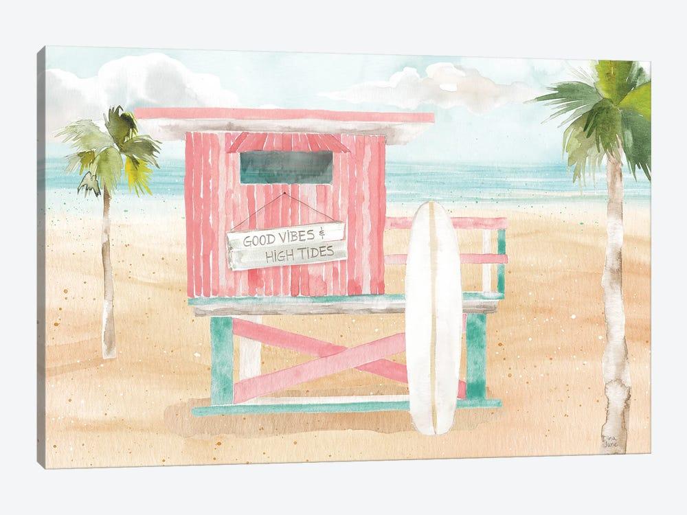 Surfs Up VIII by Dina June 1-piece Canvas Art