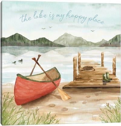 Lake Love III Canvas Art Print