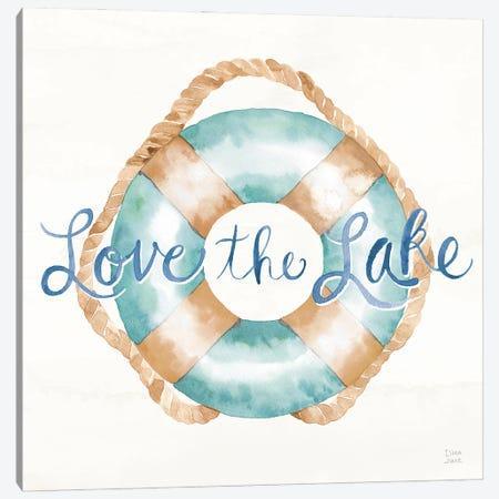 Lake Love VI Canvas Print #DIJ62} by Dina June Canvas Art Print