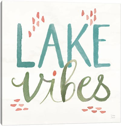 Lake Love VIII Canvas Art Print