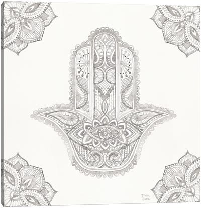 Touch Of Hamsa I Canvas Art Print